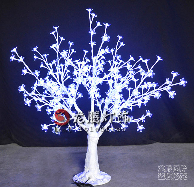 24V led tree centerpiece Artificial White lighted branch tree