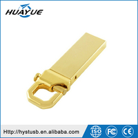 Metal High speed usb flash drive 1 / 2 / 4 / 8 / 16 / 32 / 64GB key ring USB flash drive with UDP made in china