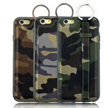 2015 new arrival unique cheap bulk mobile phone cover cases for iPhone6S plus handmade camouflage case