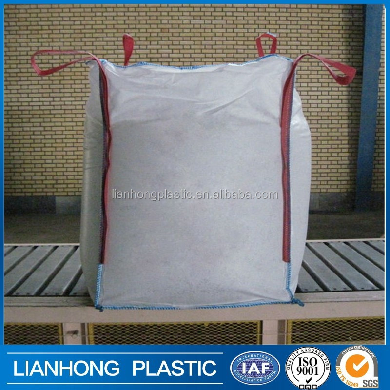 Wholesale high quality bulk bag PP big bag/FIBC bag/ super sack 1 ton/ top open, bottom discharge 100% new virgin resin china