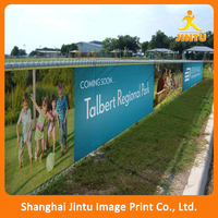 Outdoor Advertising Large Mesh Fabric Banner/Fence Fabric Banner (JTAMY-2015102612)