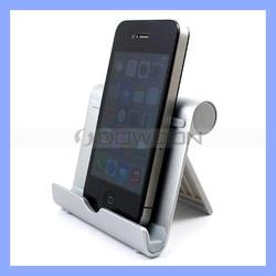 Zinc Alloy and Anti Slip Rubber 4 Inch to 10 Inch Tablet PC Stand