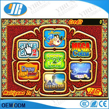 Poker game casino multi game 7x slot game board