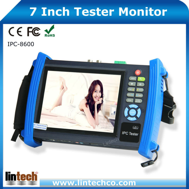 Multifunctional 7 Inch Touch Screen Digital LCD Network Cable <strong>Tester</strong>,Audio Cable <strong>Tester</strong>