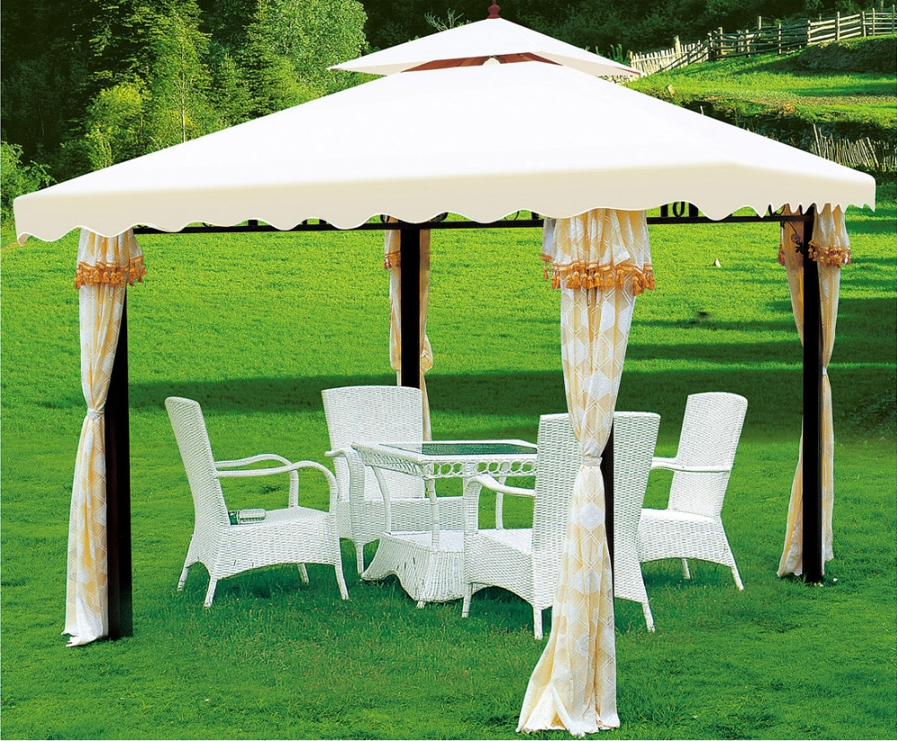 Buy gazebo tent 10 x 10 palm springs ez pop up for Schreibtisch 1m tief