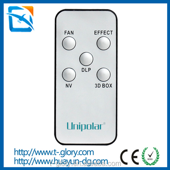 China oem factory custom mini led light dvd player remote control ir ceiling fan remote controller with CE ROHS
