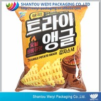 Customized design printing moisture-proof chips snack bag