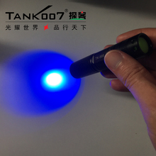TANK007 TK566 1w 365nm UV flashlight/uv led flashlight/365nm uv light in curing resin