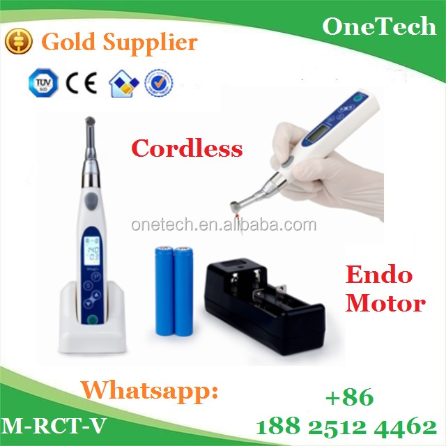 Automatic control wireless endo motor / Dental endo motor price easy to operate M-RCT-V