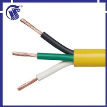 3 core 2*0.75mm2 H03VV-F pvc insulated cable