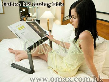 Adjustable Laptop Desk A6 Large Multifunctional Aluminum Vented Bed Tray