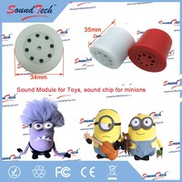 Customized recordable pull string voice box
