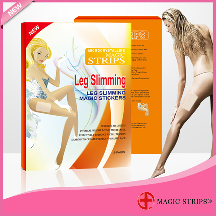 agent wanted sleep slim slimming leg patch / sticker