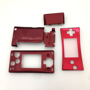 New Replacement Full Housing Shell Case Front Bottom Case Cover red for Nintendo Gameboy Micro GBM