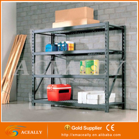warehouse racks steel frame layout long span stacking storage inventory rack system