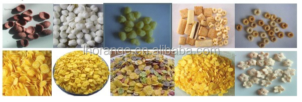 Good quality breakfast cereal/corn flakes making machine/making line15939556928