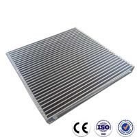 Custom made plate fin type construction cooler radiator core