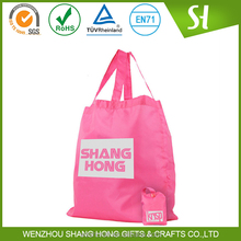 Cheap nylon foldable shopping bag/High quality polyester foldable shopping bag