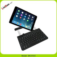 Slim Portable Wireless keyboard , Stand Bluetooth Keyboard case, slide wireless bluetooth keyboard case