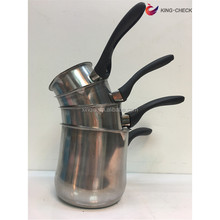 Ramadan cheap stainless steel coffee warmer tea set 4 of set