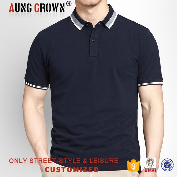 Custom Polo T-Shirts Design OEM Service Top Quality Cheap