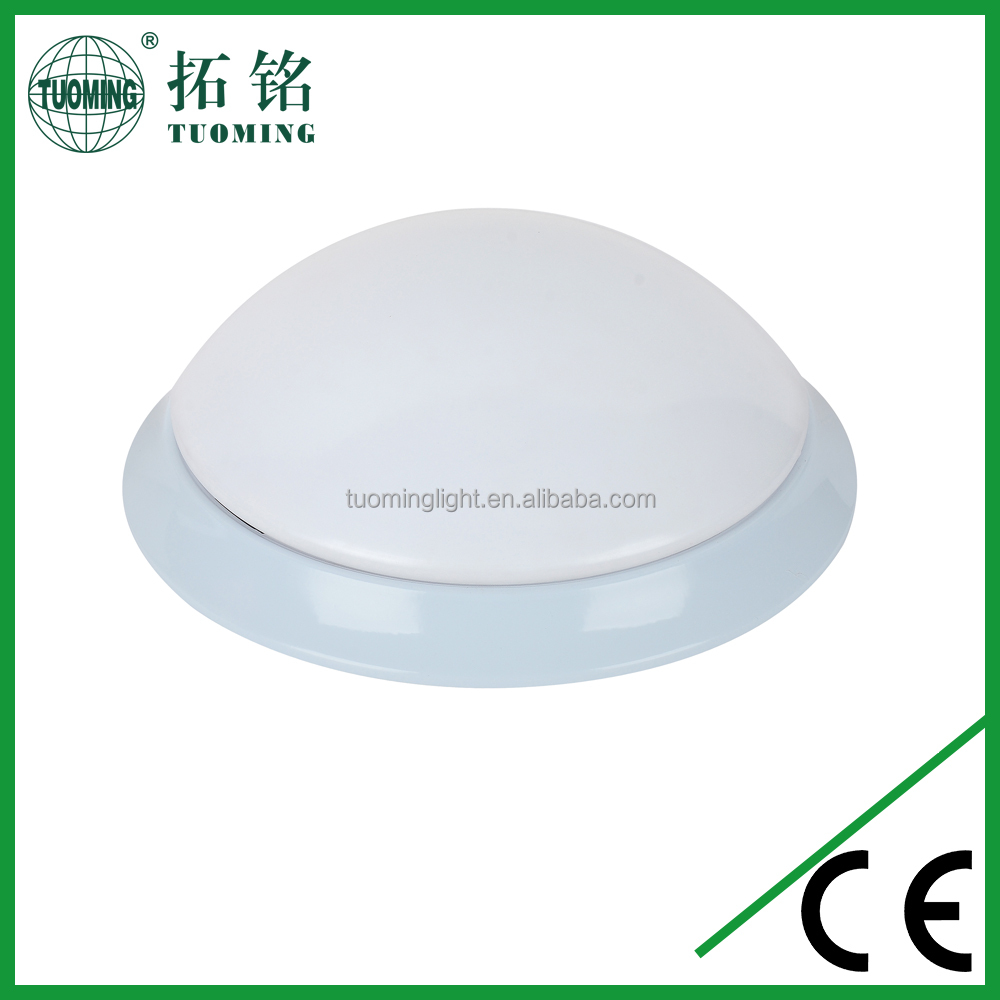 E27 MAX 40W round plastic emergency led ceiling light covers