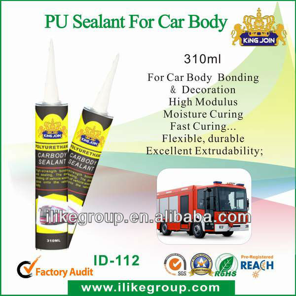 Automotive welding line sealant special pu adhesive sealant (ID-112)