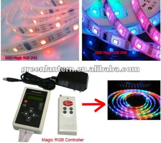 3m adhesive white pcb flexible lpd8806 led strip