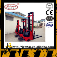 Overseas third-party support forklift Electric straddle pallet Stacker