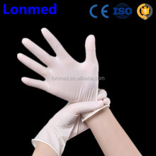 China factory non sterile latex examination check gloves