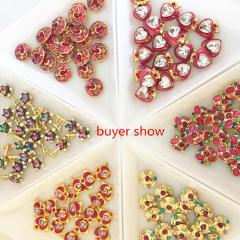 TSZS  Japanese Beautiful Artificial Short fashion Nail Art decoration