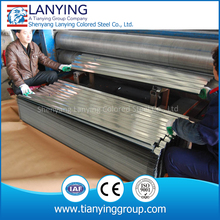 PPGI steel roof tile GI corrugated roofing sheet corrugated metal sheet cost