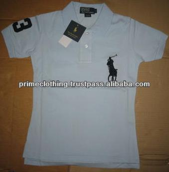 Decent plain high quality grey polo t-shirts for men