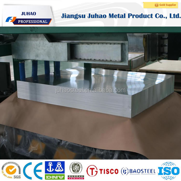 Supplied with best price in stocks BAOSTEEL ASTM 8K MIRROR Stainless steel sheet
