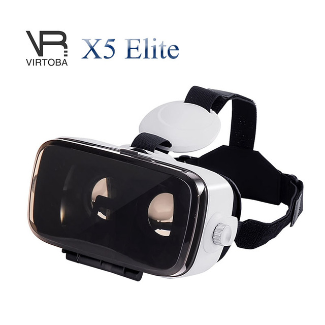 Virtoba X5 Elite Immersive 3D Glasses Virtual Reality Headset IPD Focus Adjustable 120FOV VR Headset for 4-6 Inches Smartphones