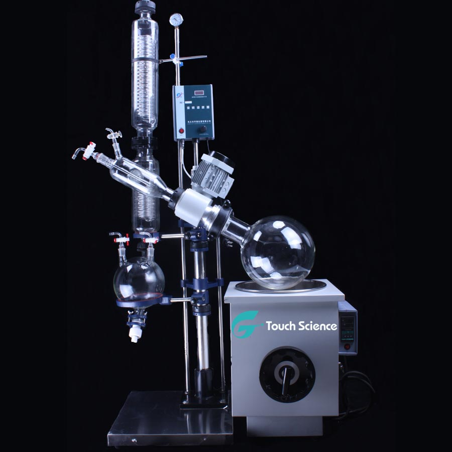 Vacuum Glass Thc Cbd Bho Herbal Supercritical Co2 Oil Extraction Equipment