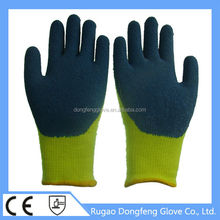 Fit Palm Latex Coated Grip Gloves Increase The Friction Gloves