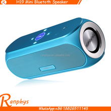 Ranphys High-end Gift USB Player Touch Screen Mini Bluetooth Handsfree NFC Speaker