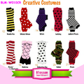 Popular design wholesale toddler baby crawling knee pad cotton kids leg warmers