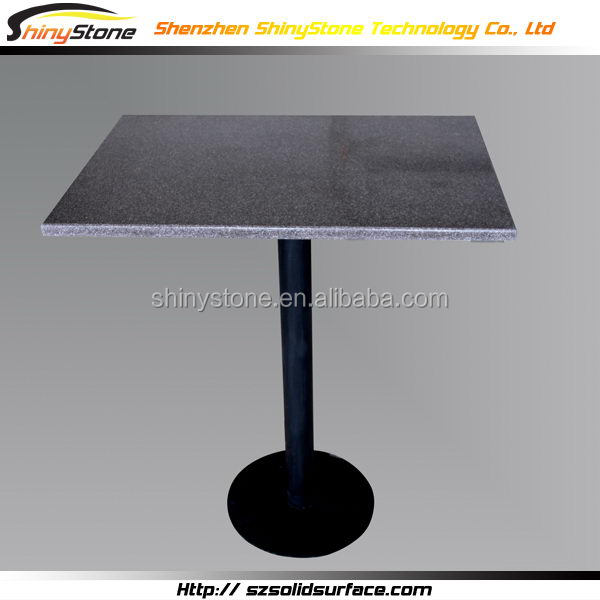 Exclusive hotel project artificial marble japan restaurant dining table