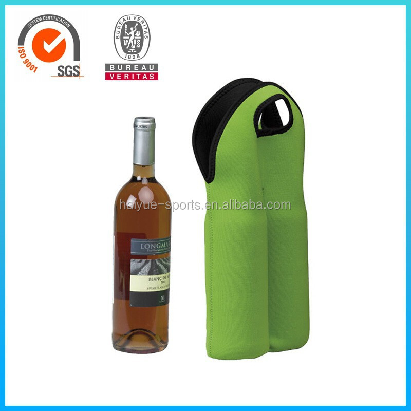 neoprene beer bottle insulation cooler sleeve single bag