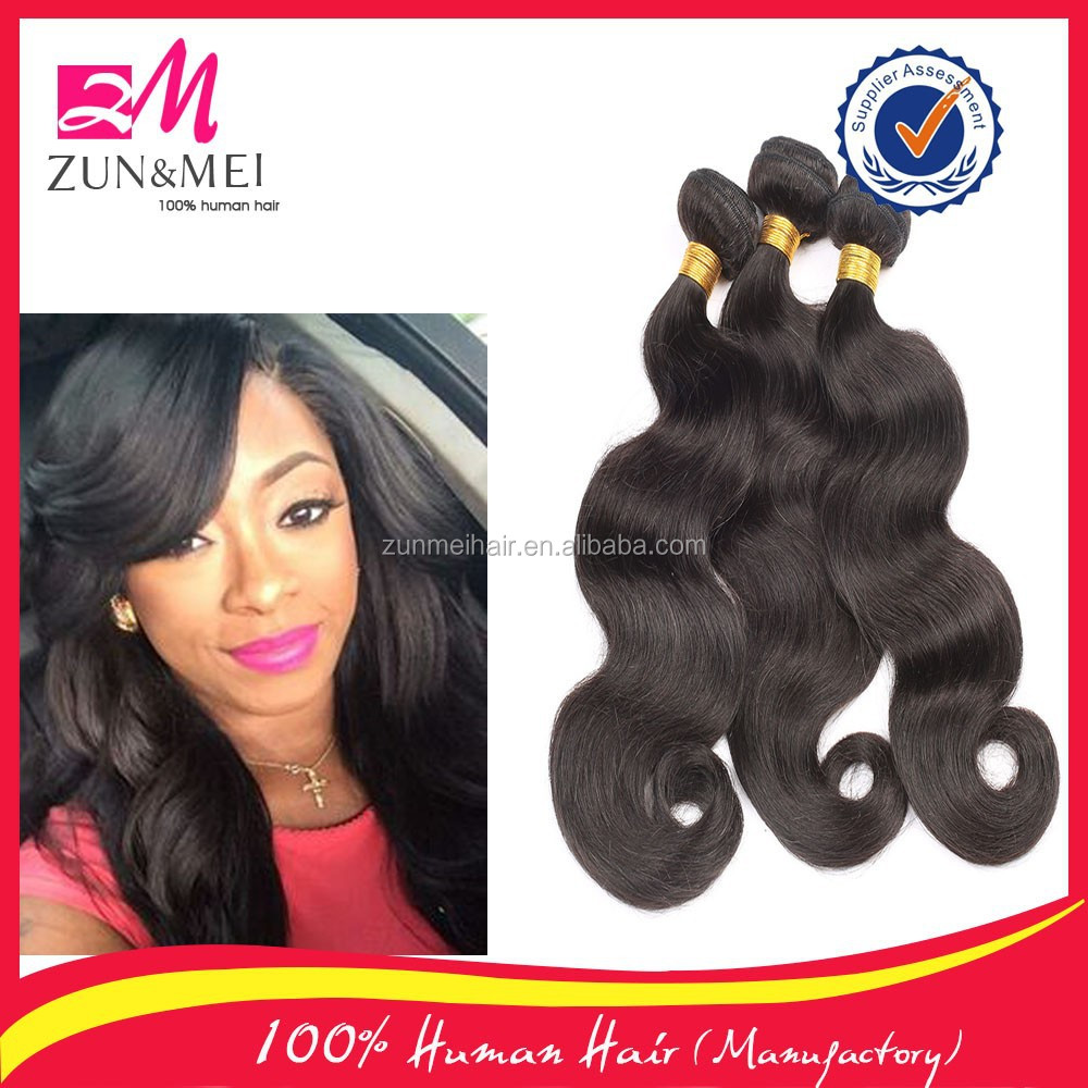 Factory price no tangle and no shedding wholesale brazilian remy human hair 8inch-40inch