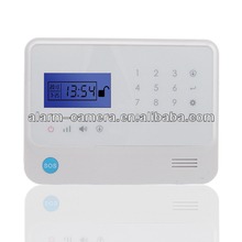 G90 LCD display intelligent smart home house office building alarm system ,GSM based alarm system, Wireless network alarm system
