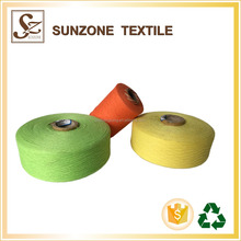 recycled good quality towel yarn manufacturer polyester yarn regenerated cotton yarn
