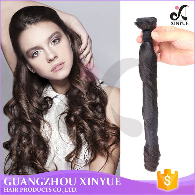 Peruvian Unprocessed Remy Hair No Tangle No Shed Spring Curl Wave In Factory Price