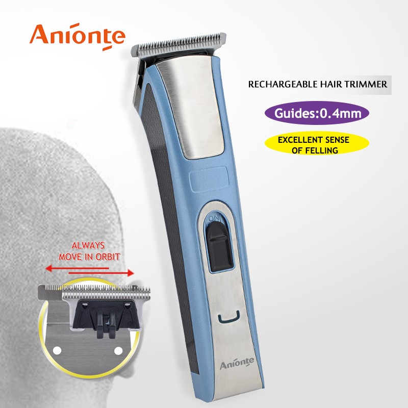 2017 Rechargeable DC Motor Hair Trimmer With Micro Trimmer Function