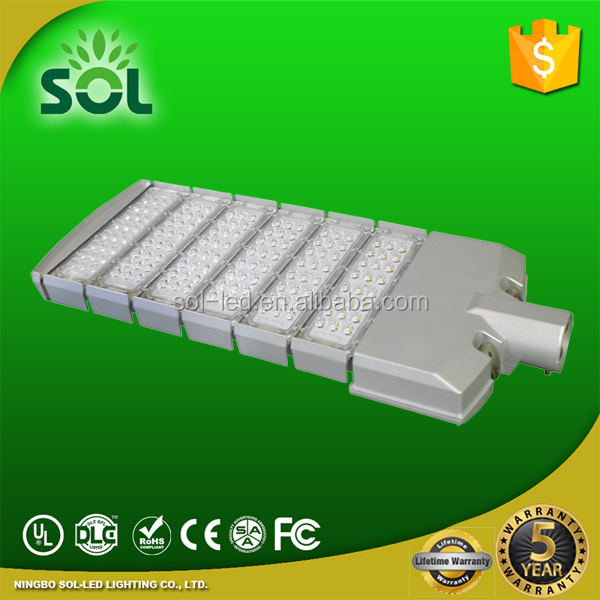 UL listed 95-277V 50W 100W 150W 200W 300W street LED light