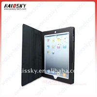 Sleep function & Touch pen slot Tablet Leather case for ipad 2