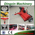 Top quality 15hp gasoling engine atv lawn mower with CE certificate