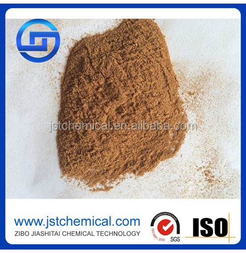 Chemicals for industrial production lignin yellow powder as fertilizer calcium lignosulfonate in China